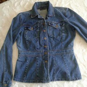 DKNY women's denim blazer style jacket
